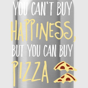 Cant buy happiness, but pizza T-Shirts - Water Bottle