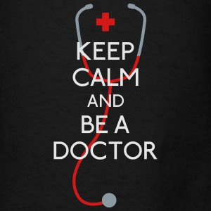 Keep Calm Doctor Bags & backpacks - Men's T-Shirt
