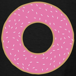 Pink donut Bags & backpacks - Men's T-Shirt