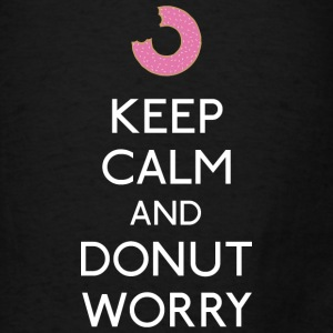 Keep Calm Donut worry Bags & backpacks - Men's T-Shirt