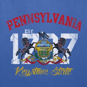Pennsylvania Keystone State T-Shirts - Tote Bag