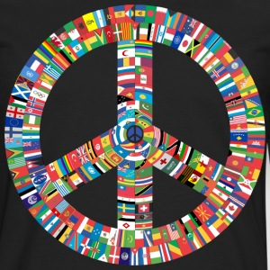 Peace to All Nations - Men's Premium Long Sleeve T-Shirt