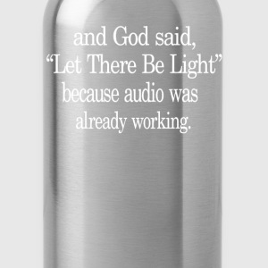 Let There Be Light - Water Bottle