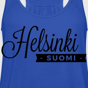 Helsinki T-Shirts - Women's Flowy Tank Top by Bella