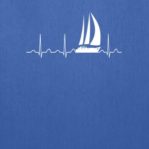 Sailing Heartbeat - Tote Bag