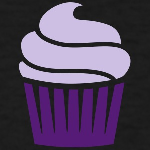 cupcake two-colored Tanks - Men's T-Shirt