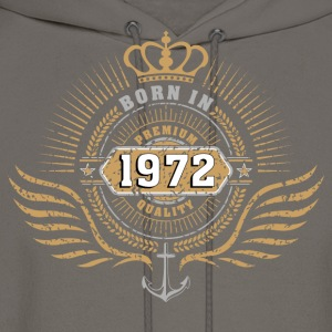 born_in_197201 Women's T-Shirts - Men's Hoodie