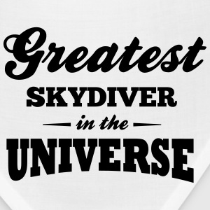 greatest skydiver in the universe t-shirt - Bandana