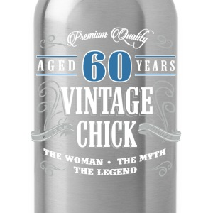 Birthday Gift 60 years old birthday vintage - Water Bottle