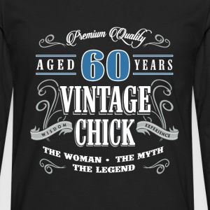 Birthday Gift 60 years old birthday vintage - Men's Premium Long Sleeve T-Shirt