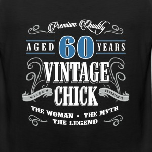 Birthday Gift 60 years old birthday vintage - Men's Premium Tank