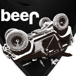 beer jeep Offroad Jeep Bear - Bandana