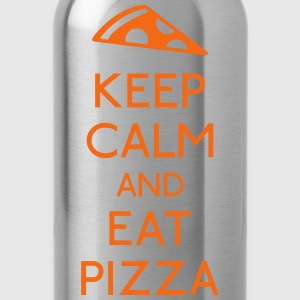 Keep Calm Pizza Baby & Toddler Shirts - Water Bottle