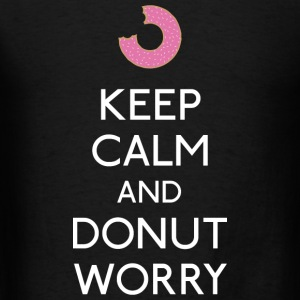 Keep Calm Donut worry Tanks - Men's T-Shirt