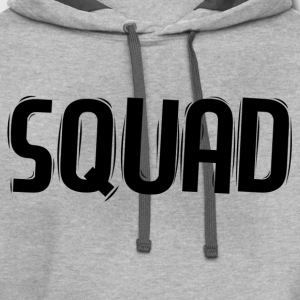 Squad T-Shirts - Contrast Hoodie