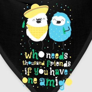 Amigos - best friends Mugs & Drinkware - Bandana