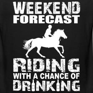 RIDING - DRINKING - horsing - Men's Premium Tank