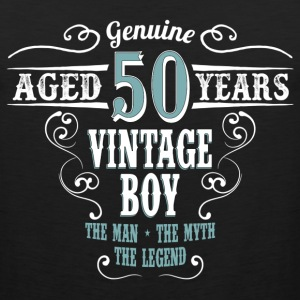 Vintage Boy Aged 50 Years... T-Shirts - Men's Premium Tank