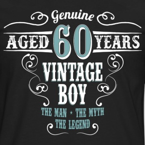 Vintage Boy Aged 60 Years... T-Shirts - Men's Premium Long Sleeve T-Shirt
