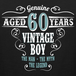 Vintage Boy Aged 60 Years... T-Shirts - Men's Premium Tank