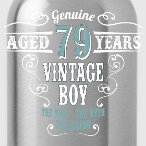 Vintage Boy Aged 79 Years... T-Shirts - Water Bottle