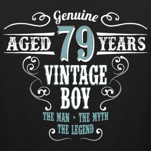Vintage Boy Aged 79 Years... T-Shirts - Men's Premium Tank