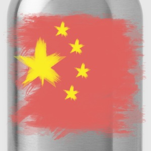 China Flag Chinese Tank Tops - Water Bottle