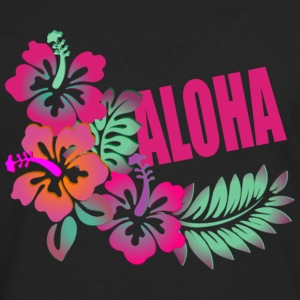 ALOHA FLOWER Tanks - Men's Premium Long Sleeve T-Shirt