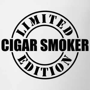 limited edition cigar smoker t-shirt - Coffee/Tea Mug