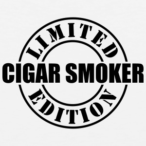 limited edition cigar smoker t-shirt - Men's Premium Tank