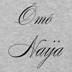 Omo naija Girls black Hoodies - Baseball T-Shirt