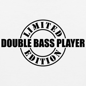 limited edition double bass player t-shirt - Men's Premium Tank