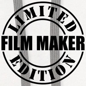limited edition film maker t-shirt - Contrast Hoodie