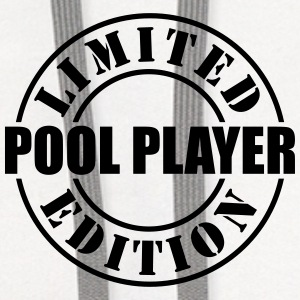 limited edition pool player t-shirt - Contrast Hoodie