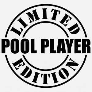 limited edition pool player t-shirt - Men's Premium Tank