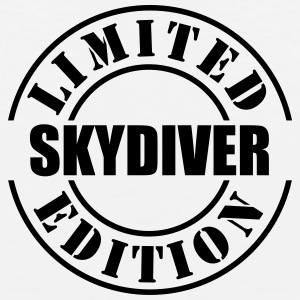 limited edition skydiver t-shirt - Men's Premium Tank