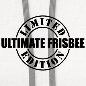 limited edition ultimate frisbee t-shirt - Contrast Hoodie