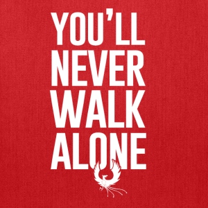 Never Walk Alone - Tote Bag