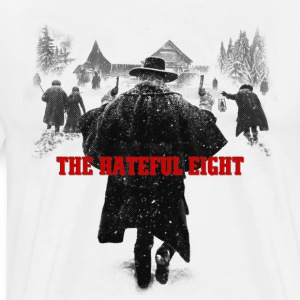 the hateful eight serigraphy | tarantino movie Hoodies - Men's Premium T-Shirt