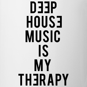 Deep House Music Is My Therapy - Coffee/Tea Mug