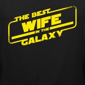 Best Wife In The Galaxy - Men's Premium Tank