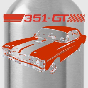 muscle car Women's T-Shirts - Water Bottle