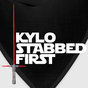 Kylo Stabbed First by Rocktane Clothing T-Shirts - Bandana