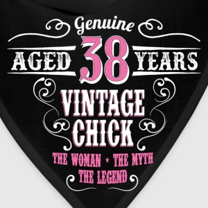 Vintage Chick Aged 38 Years... Women's T-Shirts - Bandana
