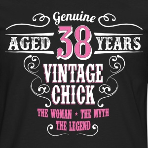 Vintage Chick Aged 38 Years... Women's T-Shirts - Men's Premium Long Sleeve T-Shirt