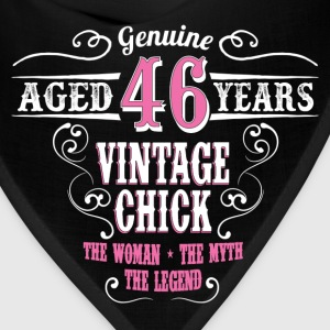 Vintage Chick  Aged 46 Years... Women's T-Shirts - Bandana