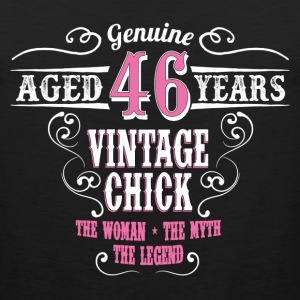 Vintage Chick  Aged 46 Years... Women's T-Shirts - Men's Premium Tank