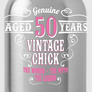 Vintage Chick Aged 50 Years... Women's T-Shirts - Water Bottle