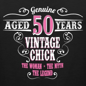 Vintage Chick Aged 50 Years... Women's T-Shirts - Men's Premium Tank