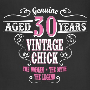 Vintage Chick Aged 30 Years... Women's T-Shirts - Adjustable Apron